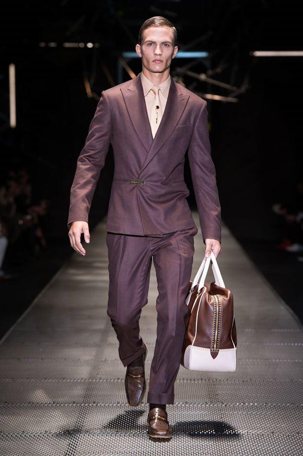 Мужские костюмы осень-зима 2015-2016 Versace