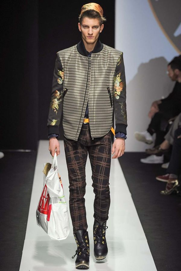 Мужские куртки осень-зима 2015-2016 Vivienne Westwood