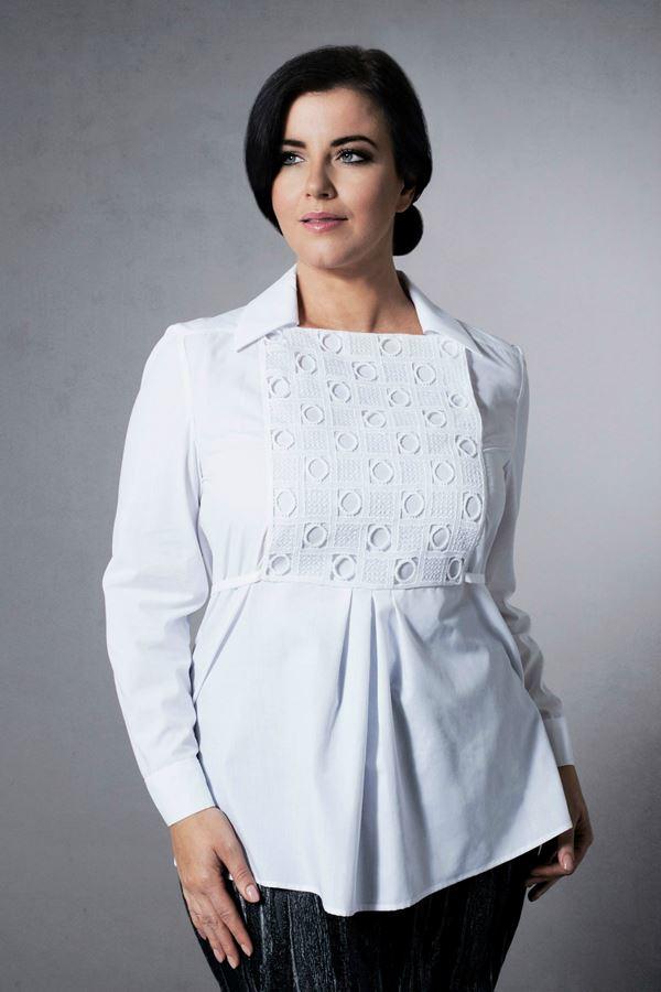 Блузки и рубашки для полных 2015-2016 (15)