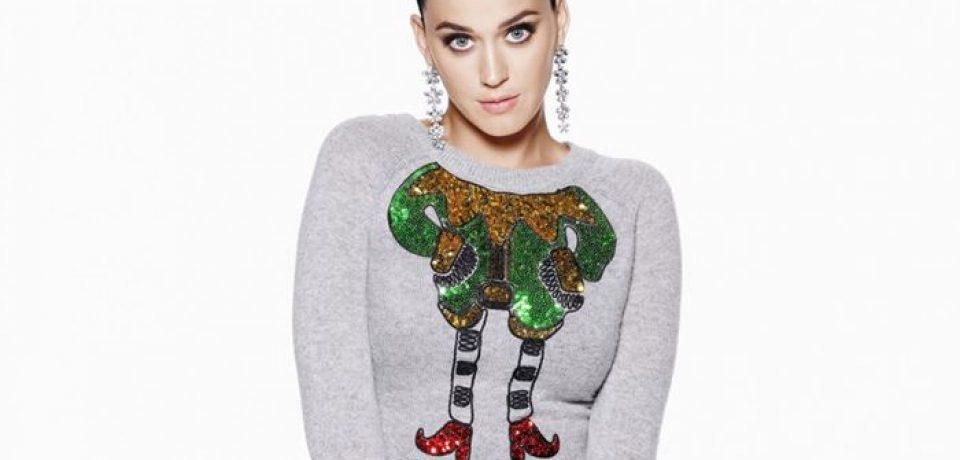 Кэти Перри в коллекции H&M Holiday 2015