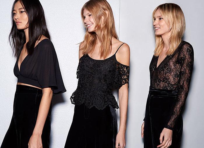 Лукбук вечерней коллекции Zara 2015 (2)