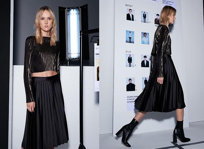 Лукбук вечерней коллекции Zara 2015 (3)