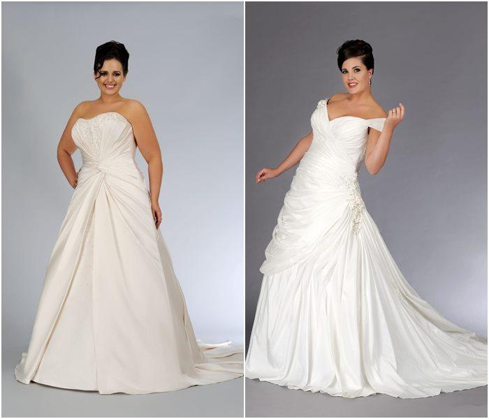 Свадебные платья для полных 2015-2016 фото (1)