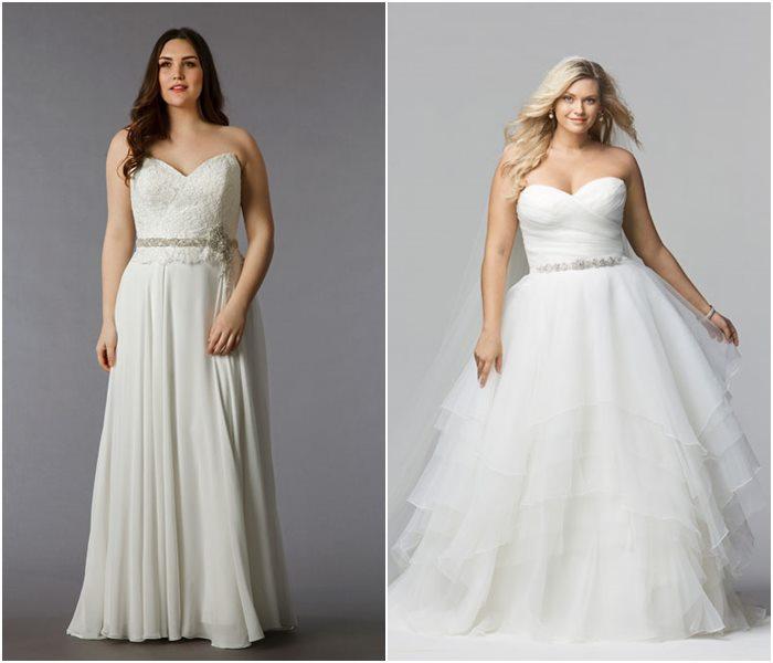 Свадебные платья для полных 2015-2016 фото (11)