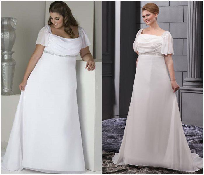 Свадебные платья для полных 2015-2016 фото (12)