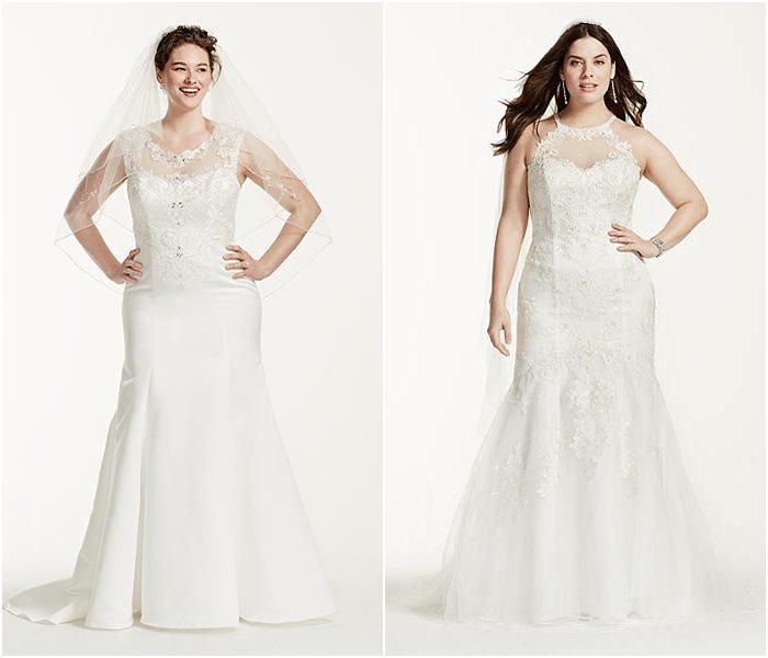 Свадебные платья для полных 2015-2016 фото (15)