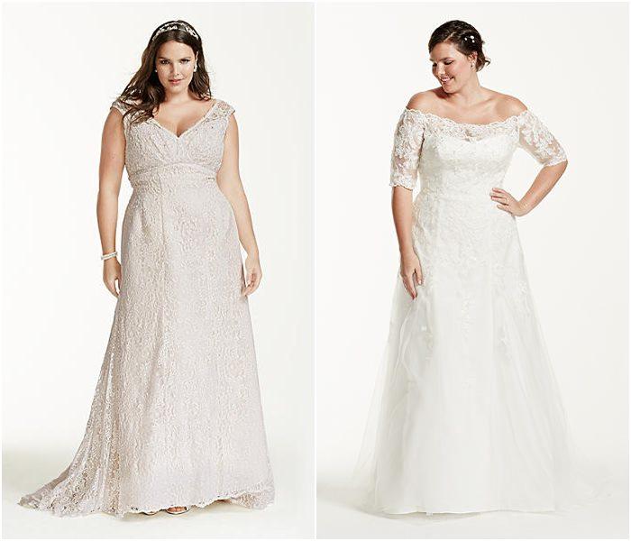 Свадебные платья для полных 2015-2016 фото (16)