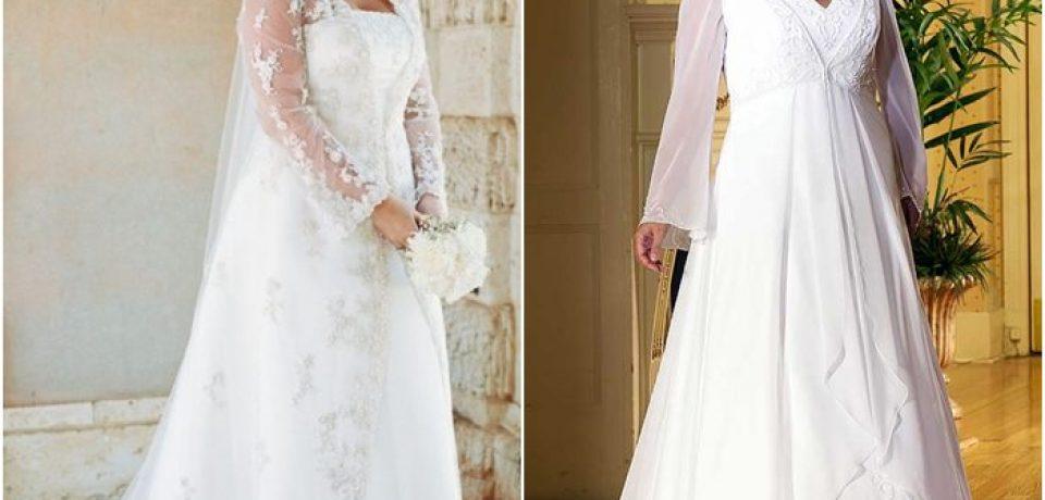 Свадебные платья для полных 2015-2016