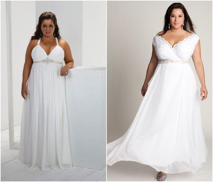 Свадебные платья для полных 2015-2016 фото (3)