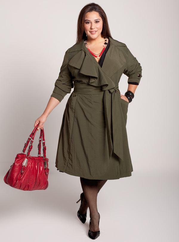 Осенняя одежда для женщин полных женщин
