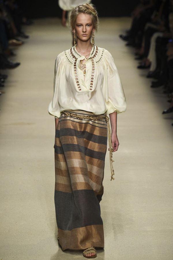 Длинные юбки весна-лето 2016  Alberta Ferretti