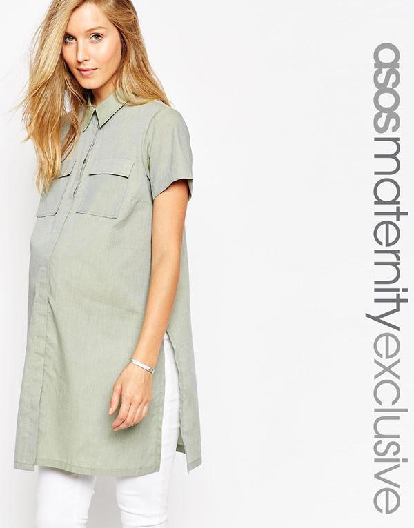 Блузки и рубашки для беременных 2015-2016 (11)