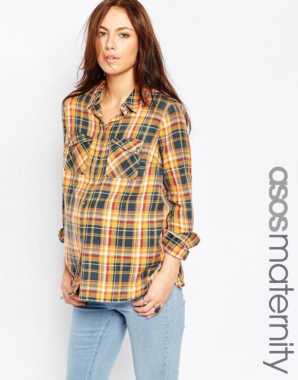 Блузки и рубашки для беременных 2015-2016 (6)