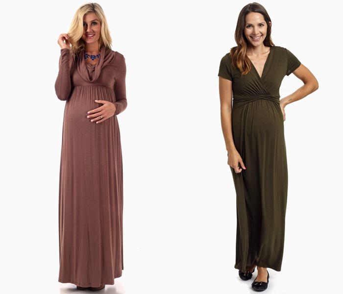 Длинные платья для беременных 2015-2016 - фото (1)