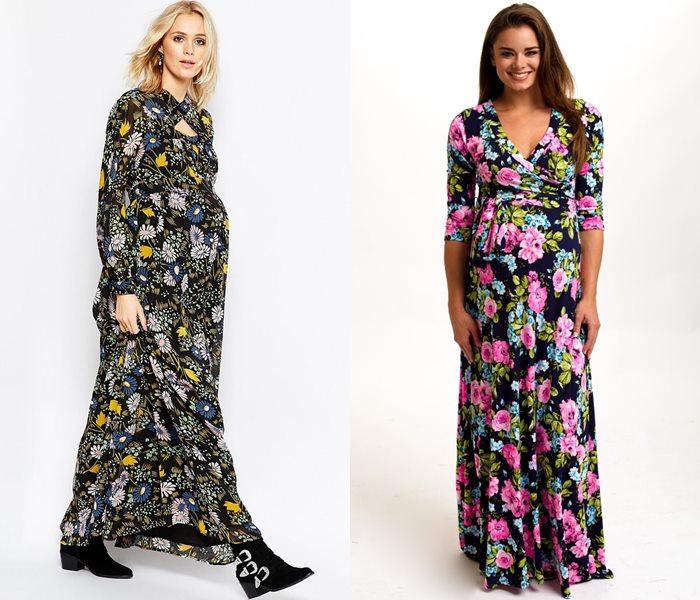 Длинные платья для беременных 2015-2016 - фото (7)