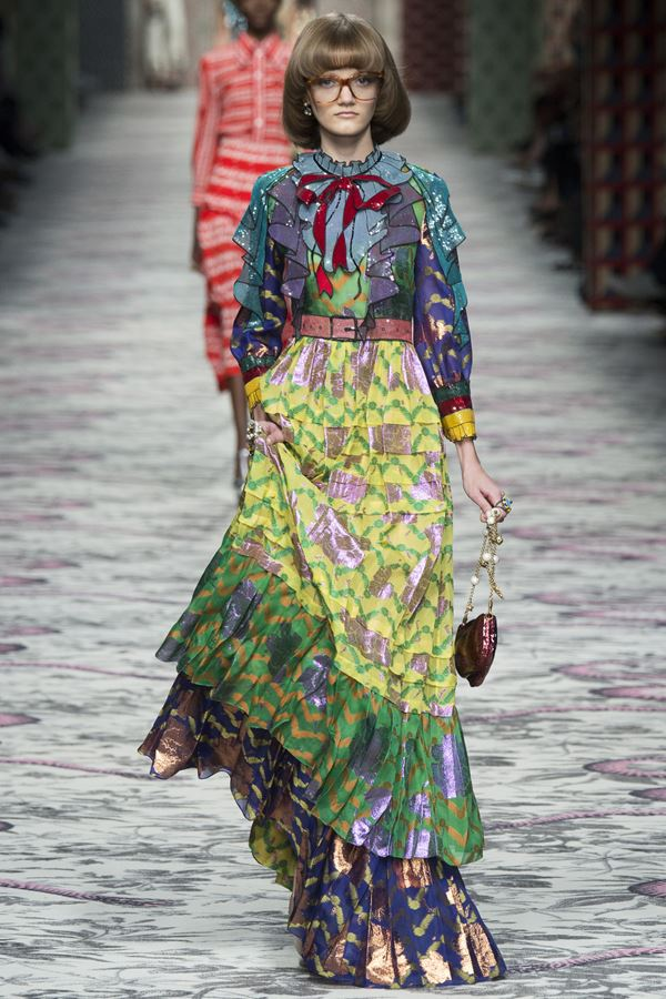 Длинные юбки весна-лето 2016 Gucci