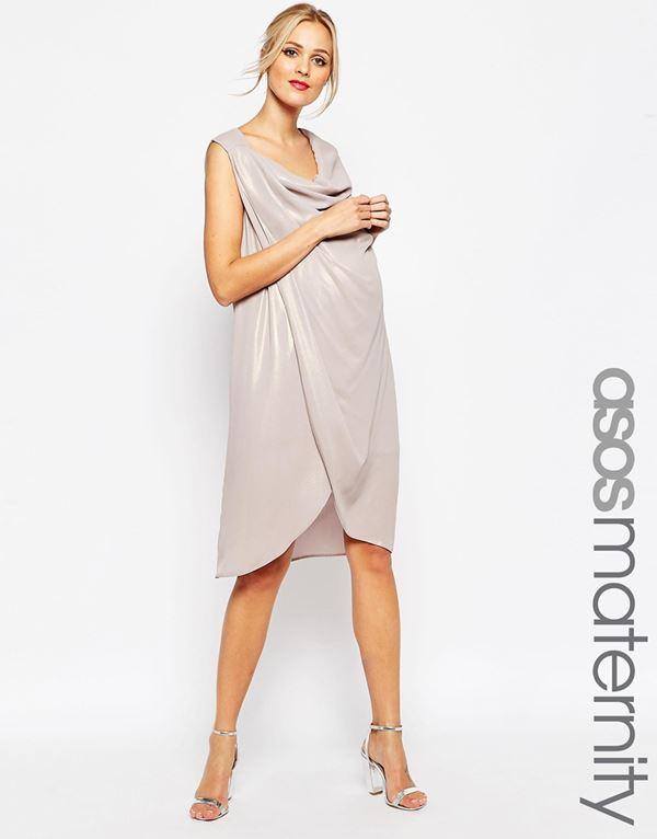 Коктейльные платья для беременных 2015-2016 (11)