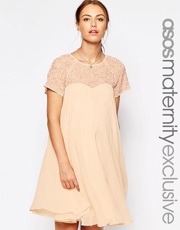 Коктейльные платья для беременных 2015-2016 (13)