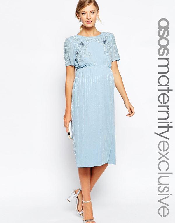 Коктейльные платья для беременных 2015-2016 (16)