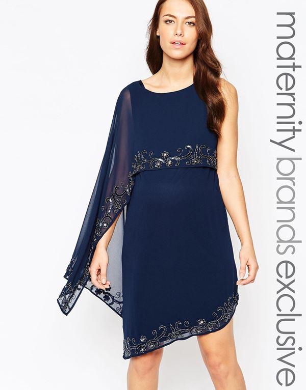 Коктейльные платья для беременных 2015-2016 (6)