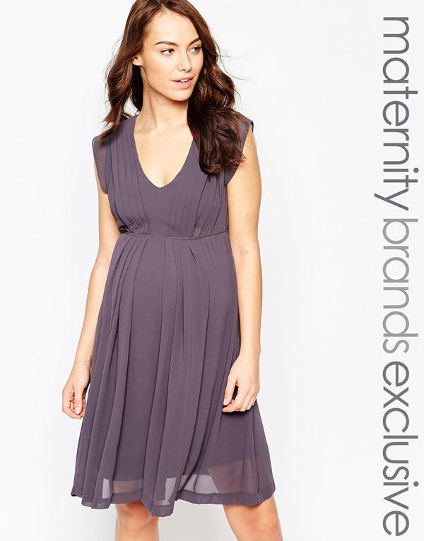 Коктейльные платья для беременных 2015-2016 (9)