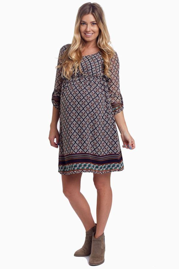 Короткие платья для беременных 2015-2016 - фото (10)