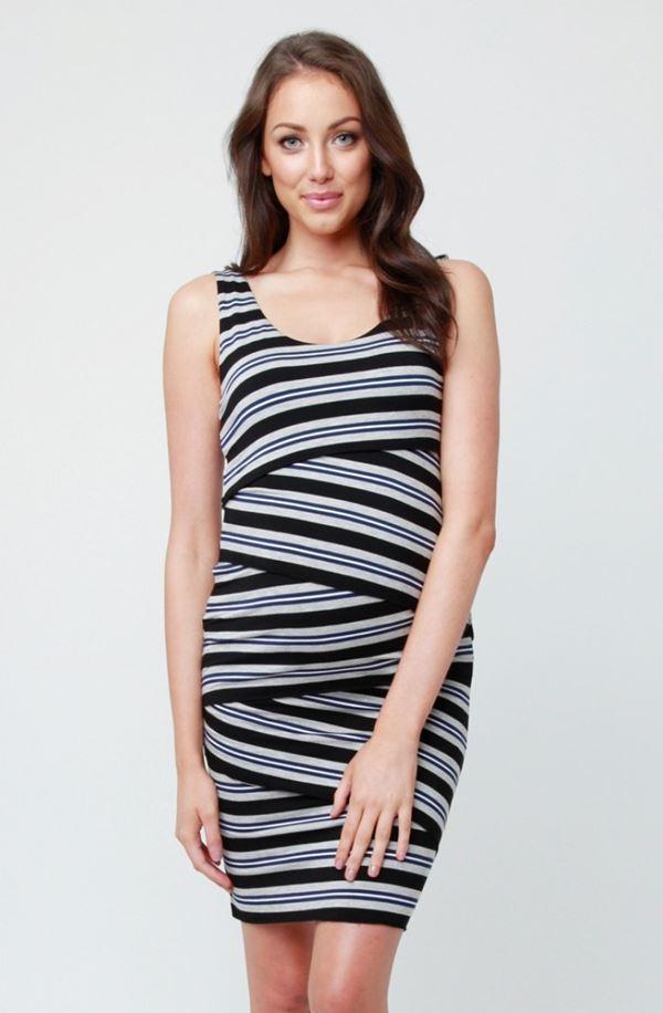 Короткие платья для беременных 2015-2016 - фото (12)