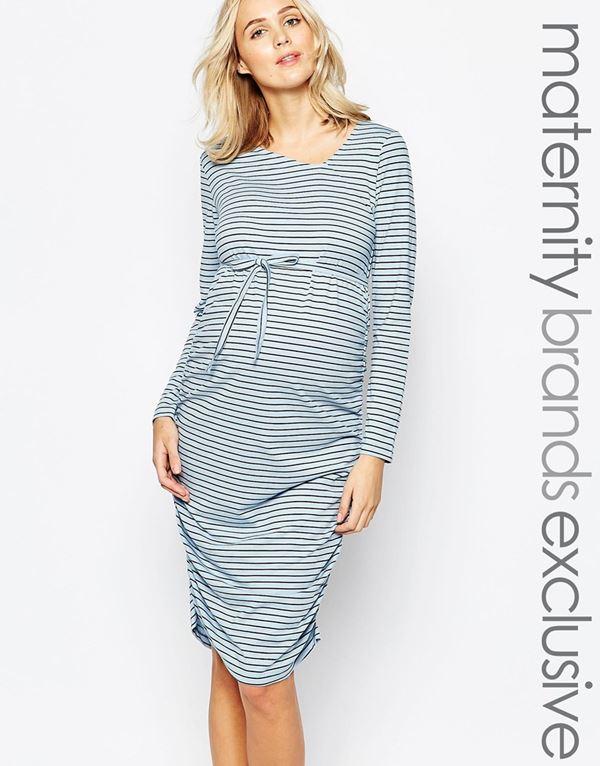 Короткие платья для беременных 2015-2016 - фото (16)