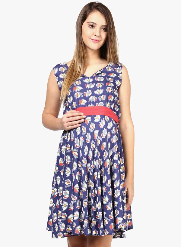 Короткие платья для беременных 2015-2016 - фото (20)