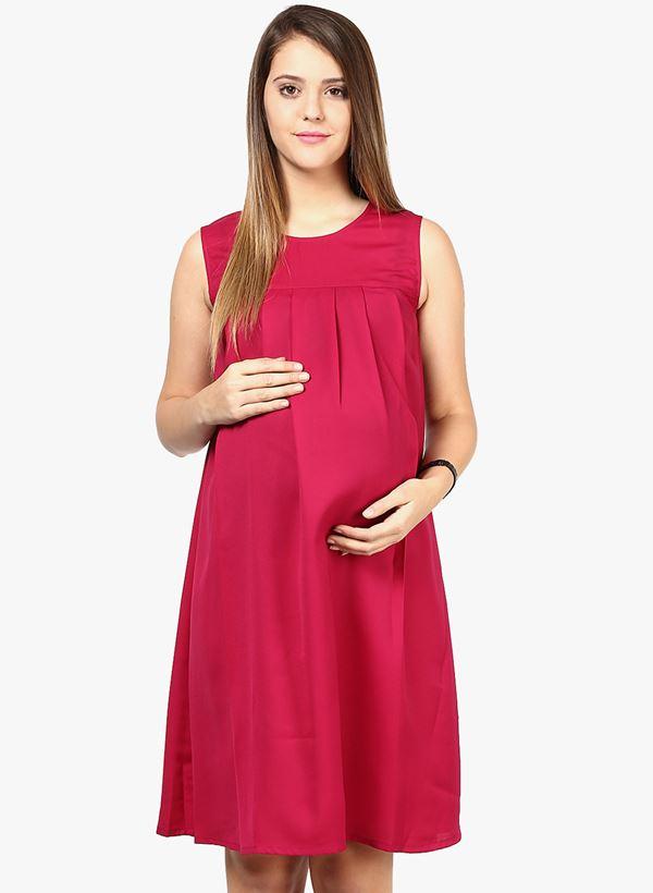 Короткие платья для беременных 2015-2016 - фото (21)