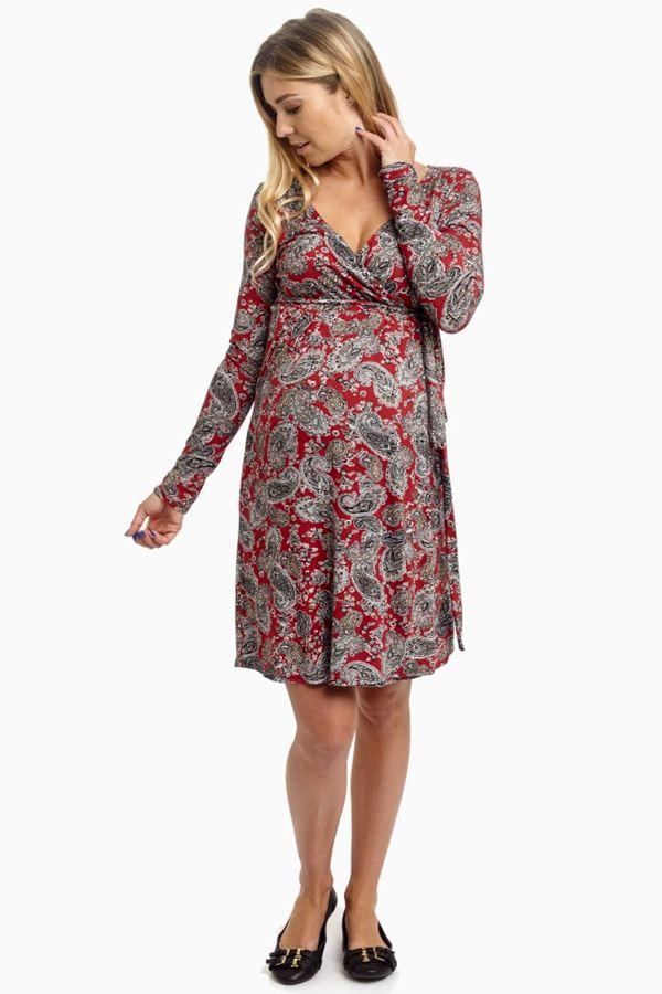 Короткие платья для беременных 2015-2016 - фото (9)