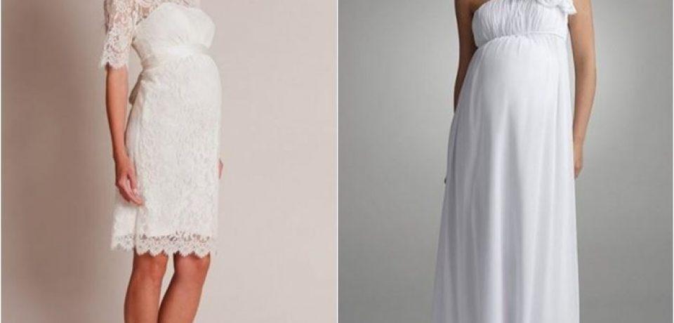 Свадебные платья для беременных 2015-2016