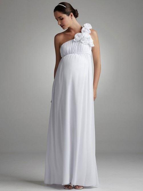 Свадебные платья для беременных 2015-2016 фото (11)