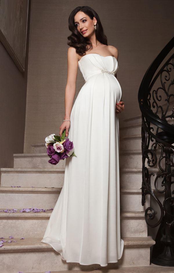 Свадебные платья для беременных девушек
