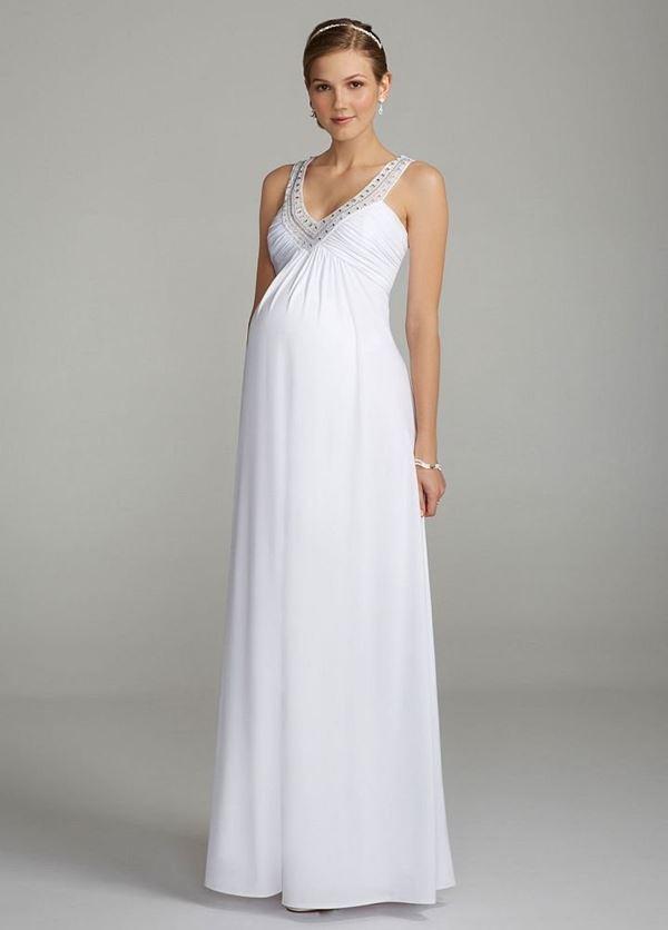 Свадебные платья для беременных 2015-2016 фото (3)