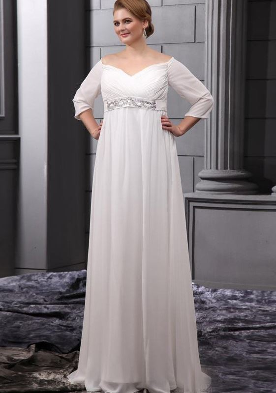 Свадебные платья для беременных 2015-2016 фото (7)