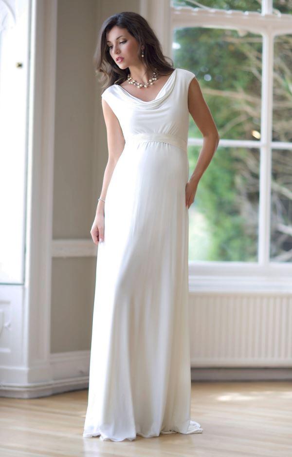 Свадебные платья для беременных 2015-2016 фото (9)