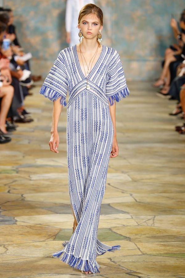Трикотажные платья весна-лето 2016 Tory Burch