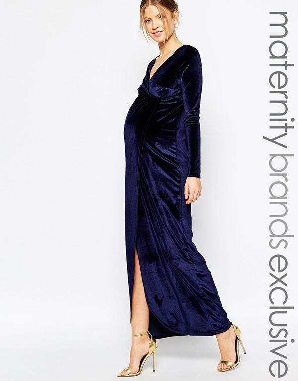 Вечерние платья для беременных 2015-2016 (12)