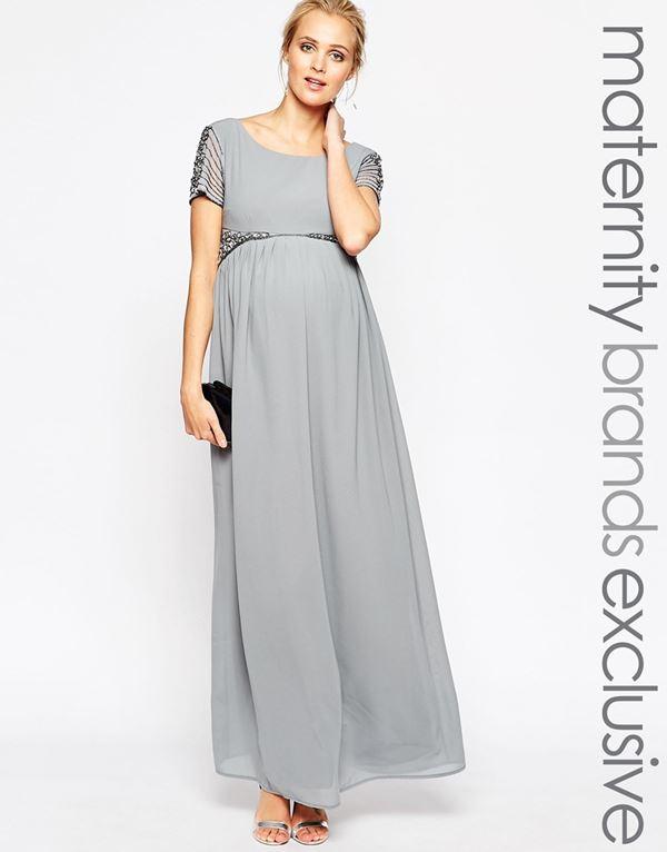 Вечерние платья для беременных 2015-2016 (13)
