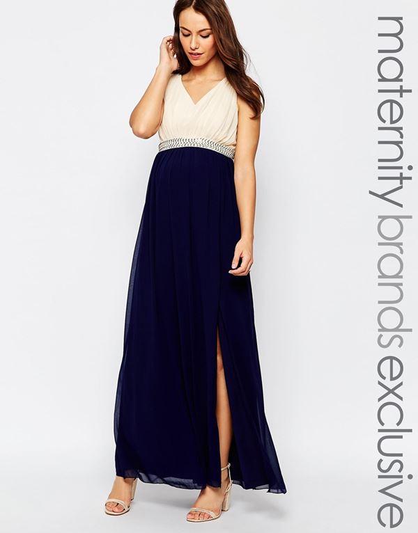 Вечерние платья для беременных 2015-2016 (23)