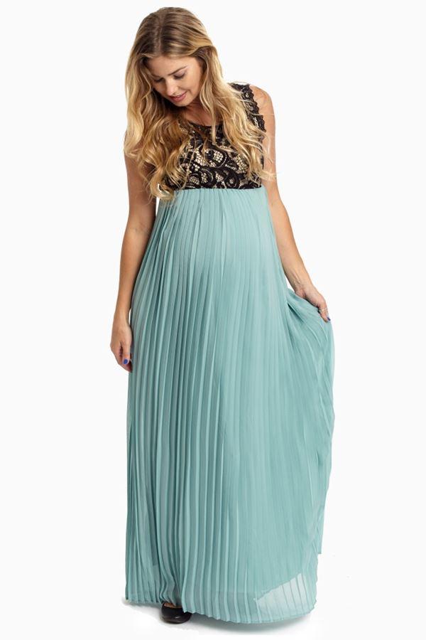 Вечерние платья для беременных 2015-2016 (4)