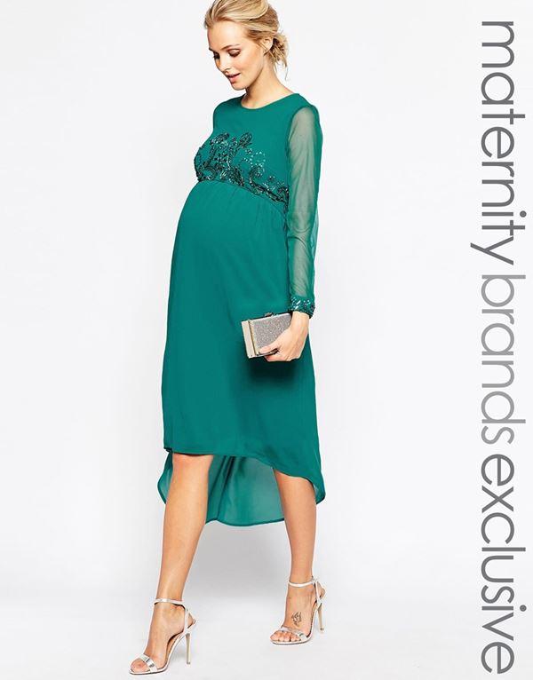 58322cf10f21eba Вечерние платья для беременных 2015-2016 - фото новинок | BonaModa