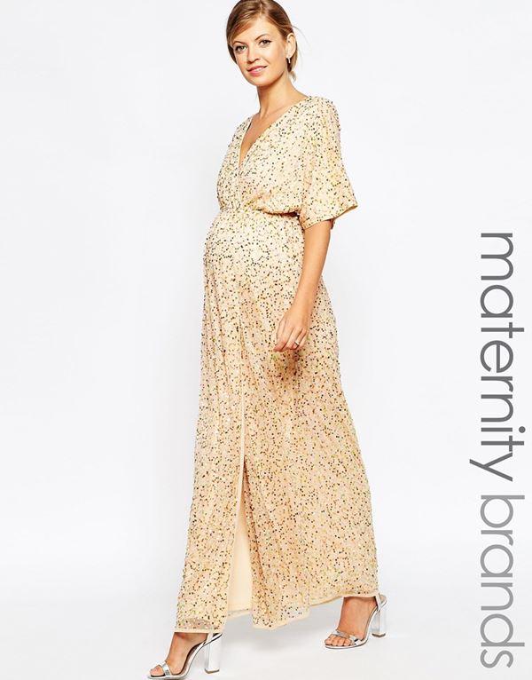 Вечерние платья для беременных 2015-2016 (7)