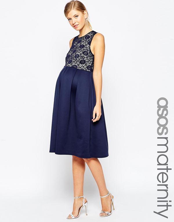 Вечерние платья для беременных 2015-2016 (8)