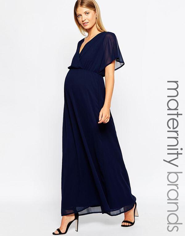 Вечерние платья для беременных 2015-2016 (9)