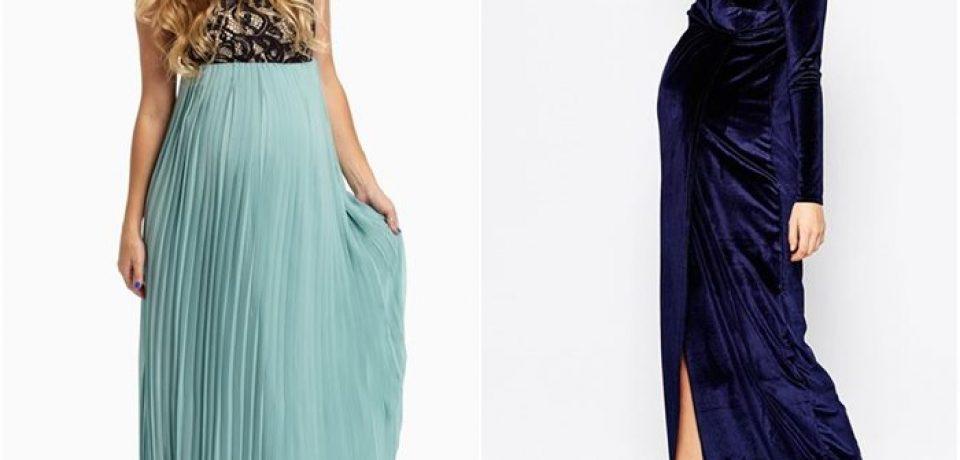 Вечерние платья для беременных 2015-2016