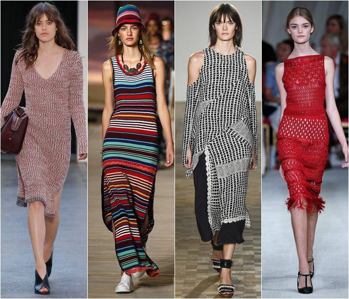 Модные платья весна-лето 2016 - фото