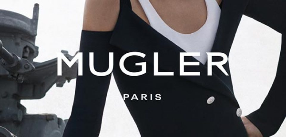 Даутцен Крез в рекламной кампании Mugler весна-лето 2016