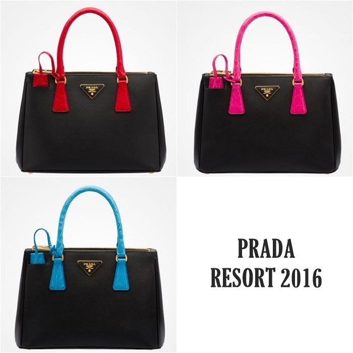 Коллекция сумок Prada Resort 2016  (1)